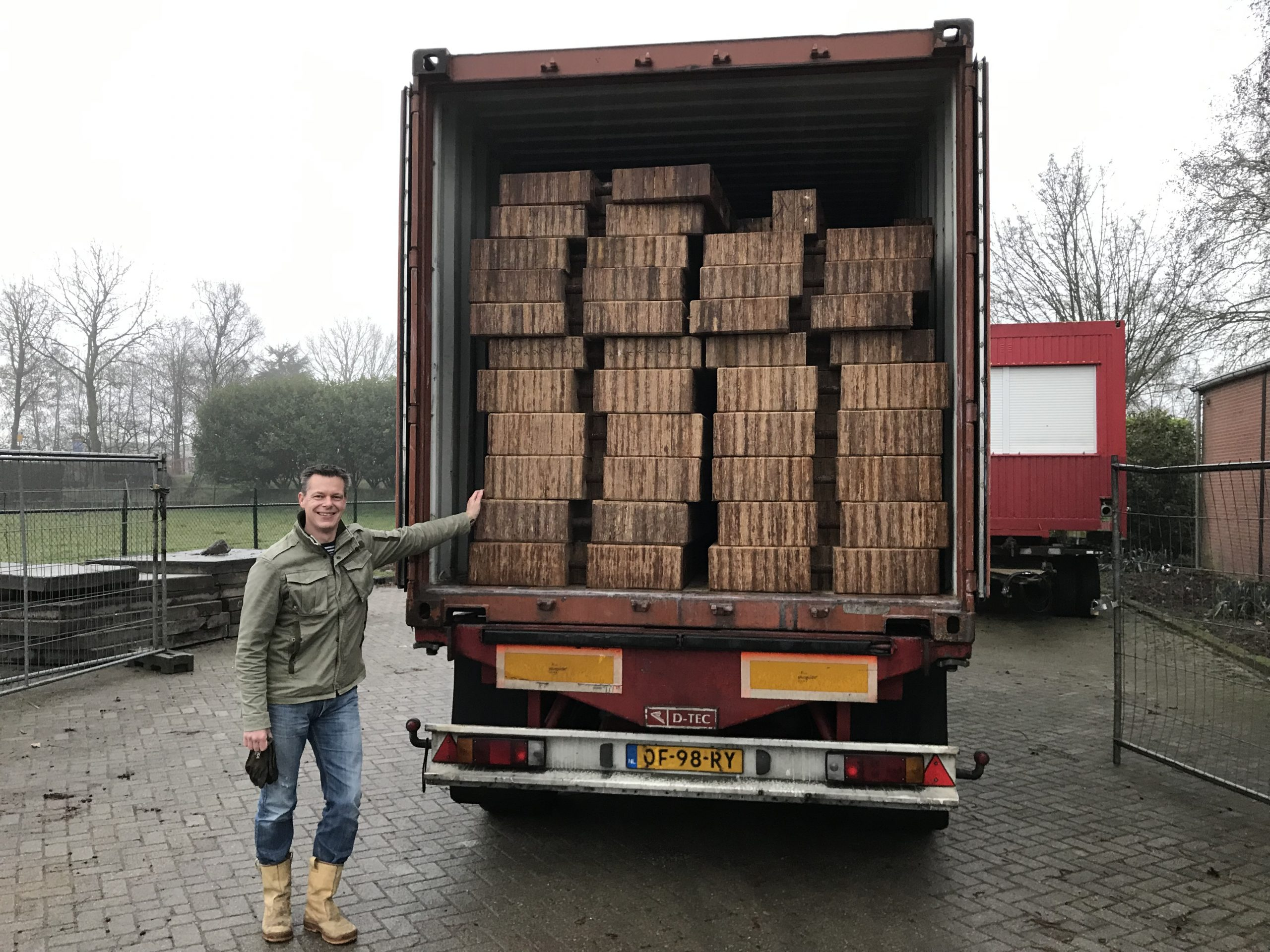 Eerste schotten aangekomen in Nederland