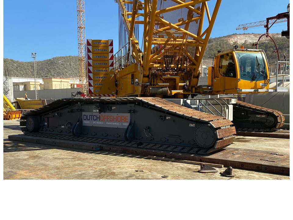 Crane mats used Offshore